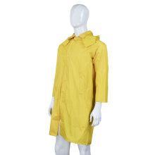 Revestimento longo de nylon / PVC de trabalho da capa de chuva