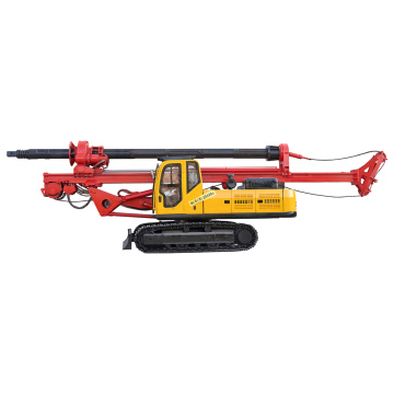 Machine de forage rotatoire inverse de pile de base