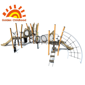 Multiplay Outdoor Equipment Climb Net Playground Para Venda