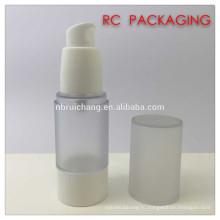 30 мл пластиковая косметическая безвоздушная бутылка, пластиковая круглая безвоздушная бутылка, косметическая безвоздушная бутылка