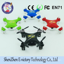 Mini rc quadcopter remote control toy With Led Light mini drone with hd camera