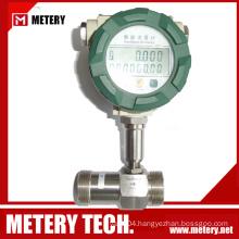 High accuracy turbine crude oil flow meters
