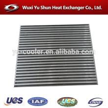 Alto rendimiento aluminio personalizado aftercooler núcleo fabricante