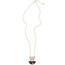Натуральный камень Алмазный дамы ожерелье сплава вентилятора