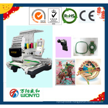 Single Head Embroidery Machine for Cap and Flat Embroidery