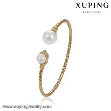 51777 bracelets élégants de xuping, bracelet de femmes plaqué or pour le mariage