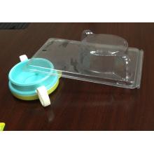Прозрачная пластиковая Коробка Волдыря раскладушка Упаковка (ПВХ пакет)