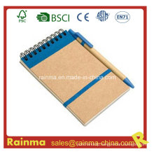 Recycled Paper Notebook with Ball Pen
