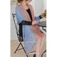 La última mujer de moda 100% Modal suave de dos tonos color Infinity bufanda mantón robó