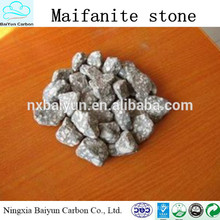 Fornecimento quente de produtos chineses 6 * 20mesh Maifanite stone / Maifanite filter for Water treatment
