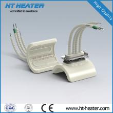 Calentador de cerámica de bajo voltaje tipo canal de cuarzo 60 * 60