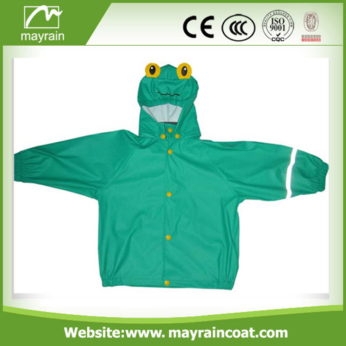 Best Selling Kids PU Raincoat