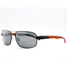 High Quality Fashion Men Metal Polarized Sport Sunglasses (14105)