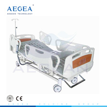 AG-BM102A hospital used 3-function supplier ABS handrails motorized psychiatric atient medical bed