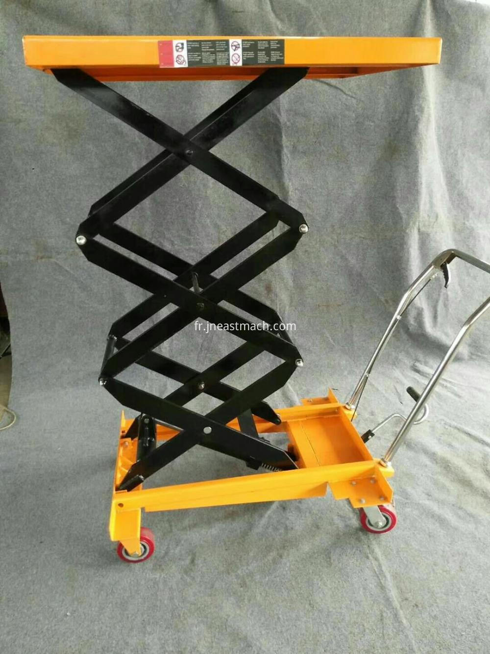 China Hot Sale Customized Lift Trolley
