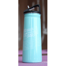 Stainless Steel Single Wall Outdoor Sports Water Bottle Ssf-580