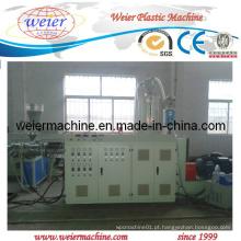 Máquina plástica de extrusora de mangueira ondulada
