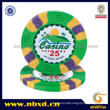 9g 3 Color Pure Clay Ultraviolet Sticker Chip (SY-C19)