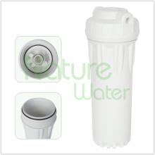 Frasco de filtro de água RO duplo O-Ring branco