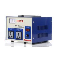 single phase servo 500v 1kv 2kv 3kv 5kv automatic voltage stabilizer