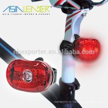 Nuevos Productos Powered By 2 * Batería AAA Flash-100% On-Off Luz trasera de la bici