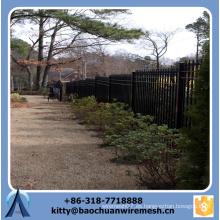 2015 nuevos productos 6 pies por la cerca barata del hierro labrado de la cerca de 7 pies para la venta