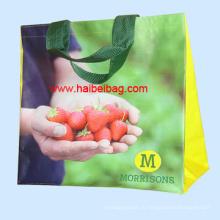PP сплетенный хозяйственная сумка