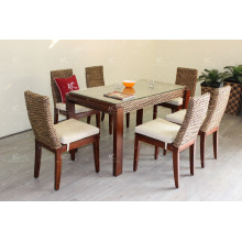 Natural Water Hyacinth Coffee and Dining Set