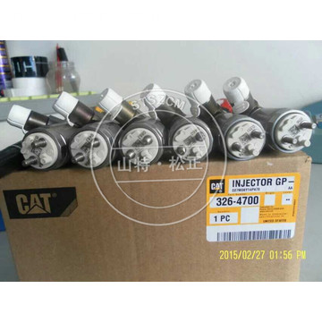 Peças da escavadora CAT C6 INJECTOR GROUP-FUEL 326-4700 CAT