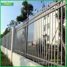 Clôture en acier de zinc durable et peu coûteuse