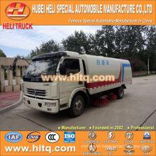 DONGFENG LHD/RHD 4x2 HLQ5090TSLE vacuum sweeper truck good quality hot sale for sale