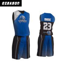 Custom Made Sublimation Printing Basketball Jerseys