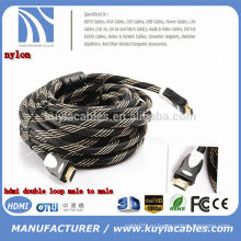 Высокоскоростной кабель HDMI 2.0 Поддерживает Fire TV и другие HDMI-совместимые устройства HDMI2.0 / 4k Совместимый кабель