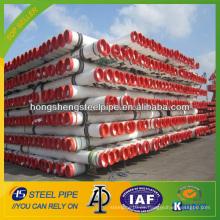 API 5L X52 tubo de acero sin costura de acero al carbono