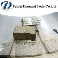 Smooth Cutting Circle Saw Blade Diamond Segment for Stone