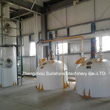 Refinaria de petróleo bruto de 20t / D de refinaria de óleo de algodão