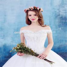 Vestido de noiva de noiva com vestido de noiva e vestido de noiva de alta qualidade 2016 Bonito vestido de noiva de casamento preto e branco Cinderella