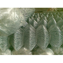 PVC Coated Chain Link Fence Mesh for Fencing