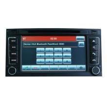 Navegación GPS para Volkswagen Touareg / T5 Multivan Reproductor de DVD de coche Hualingan