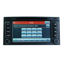 GPS Navigation for Volkswagen Touareg/T5 Multivan Car DVD Player Hualingan