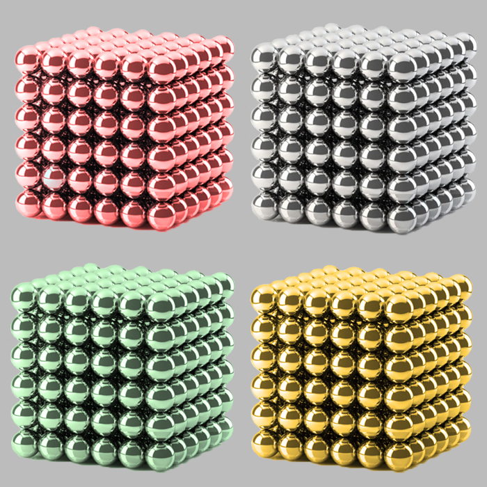 colored neocube neoball IQ toy