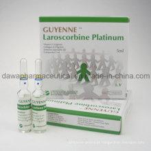 Vitamina C do suplemento nutritivo dos cuidados com a pele + injeção do colagénio