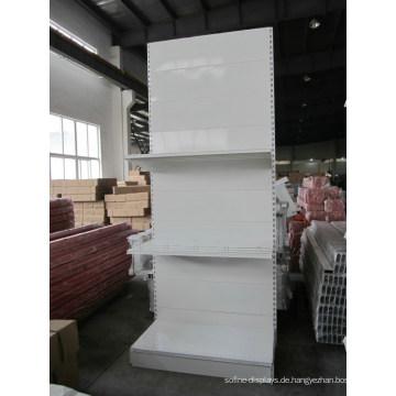 Supermarkt & Store Display Ausrüstung / Metall LED Gondel Lagerregal & Rack System