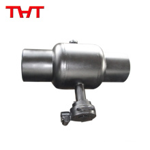 Ball valve iron ball iron stem for underfloor heating