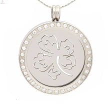 Повезло четыре листа клевера медальон монета,монета дизайн подвески