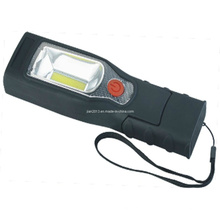 3W COB 3.7V1200mA Li-Battery Rechargeable LED Lampe de travail