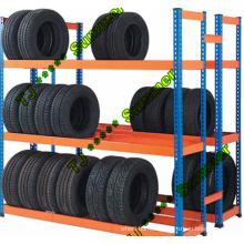 Display Truck Tire Rack