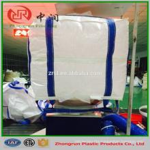 Double Stevedore Strap fibc bag , sling big bag 5:1 1000kg for cement