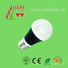 E27 Bombilla luz cálida 7 vatios LED efecto