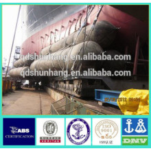 Airbag de goma inflable certificado CCS para el rescate del barco hundido